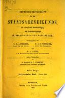 Deutsche Zeitschrift für die Staatsarzneikunde