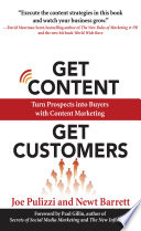 Get Content Get Customers  Turn Prospects into Buyers with Content Marketing