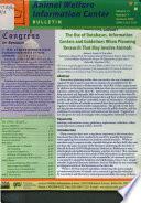 Animal Welfare Information Center Bulletin Book