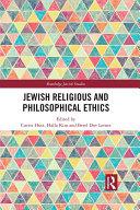 Jewish Religious and Philosophical Ethics
