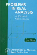 Problems in Real Analysis Book