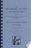 """The Biochemic System of Medicine"" by George W. Carey"