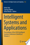 Intelligent Systems and Applications Book