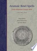 Aramaic Bowl Spells Book