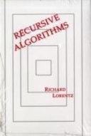 Recursive Algorithms Pdf/ePub eBook