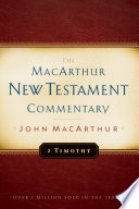 2 Timothy Macarthur New Testament Commentary Book PDF