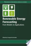 Renewable Energy Forecasting Book