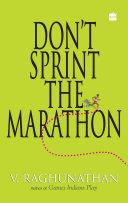 Don't Sprint The Marathon Pdf/ePub eBook