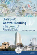 Challenges To Central Banking In The Context Of Financial Crisis