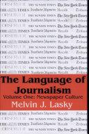Pdf The Language of Journalism
