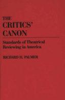 The Critics  Canon