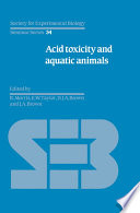 Acid Toxicity and Aquatic Animals