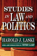 Studies in Law and Politics - Seite 8