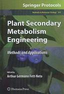 Plant Secondary Metabolism Engineering