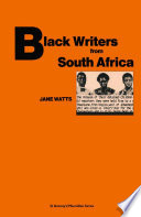 Black Writers From South Africa