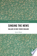 Singing The News
