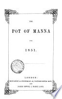 The Pot Of Manna Book PDF