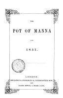 The Pot of manna