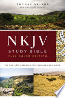 NKJV Study Bible, Full-Color, eBook