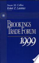 Brookings Trade Forum  1999