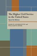 The Higher Civil Service in the United States Pdf/ePub eBook