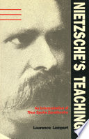 Nietzsche's Teaching