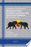 Mechanical Stress Evaluation by Neutron and Synchrotron Radiation Book