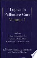Topics in Palliative Care