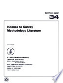 Indexes To Survey Methodology Literature