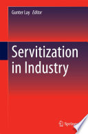Servitization In Industry Book PDF