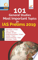 101 General Studies Most Important Topics For Ias Prelims 2019 Paper 1