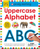 Wipe Clean Workbook  Uppercase Alphabet  enclosed spiral binding