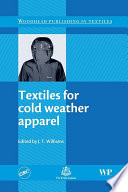 Textiles For Cold Weather Apparel Book PDF