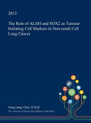 ROLE OF ALDH   SOX2 AS TUMOUR Book