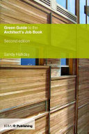 Green Guide to the Architect's Job Book