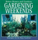 Gardening Weekends