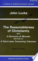 The Reasonableness Of Christianity Book