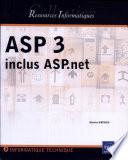 ASP 3 inclus ASP.net