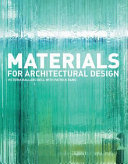 Materials for Architectural Design