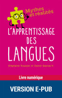 Pdf L'apprentissage des langues Telecharger