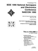 Proceedings of the IEEE 1990 National Aerospace and Electronics Conference, NAECON 1990