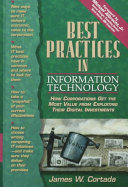 Best Practices in Information Technology Book PDF