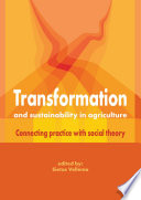 Transformation And Sustainability In Agriculture Book PDF