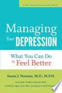 Managing Your Depression Book PDF