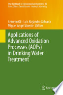 Applications of Advanced Oxidation Processes (AOPs) in Drinking Water Treatment