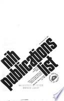 N.I.H. publications list