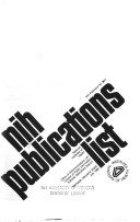 N I H  publications list