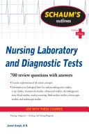 Schaum s Outline of Nursing Laboratory and Diagnostic Tests