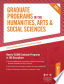 Peterson's Graduate Programs in the Social Sciences 2011