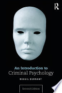 """An Introduction to Criminal Psychology"" by Russil Durrant"